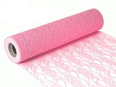 Lace Netting n 30cm x 10m Light Pink