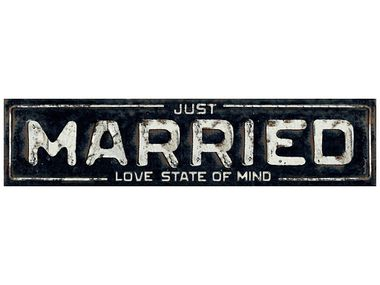 Just Married, love state of mind kilpi 1kpl