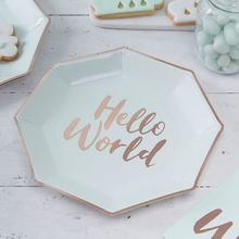 Hello world Rose Gold & Mint