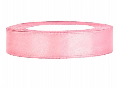 Satiininauha 12mm/ 25m Light Pink