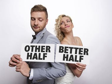 Other half & Better half, Photo Booth kyltit