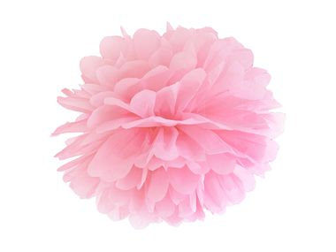 Pom Pom paperipallo 35cm light pink 1kpl