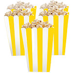 Stripes popcorn/herkkuastiat sunshine yellow 5kpl